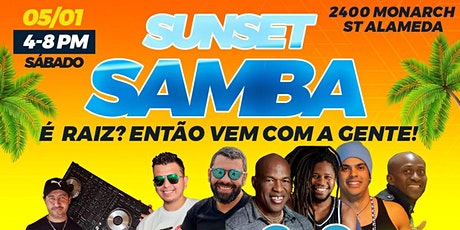 Sunset Samba! Outdoor + Masks + Social Distance tickets
