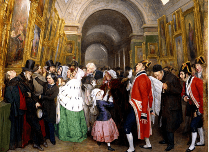 Display and Distribution of Modern Art: Role of Art Academies and Dealers image