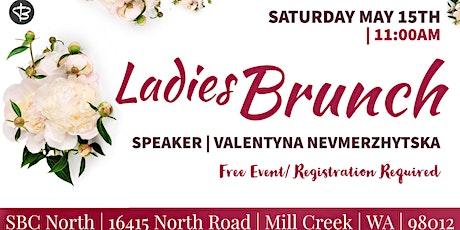 Ladies Brunch, With special guest, Valentyna Nevmerzhytska tickets