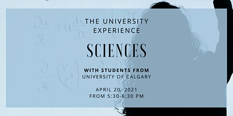 Youth Advancement Society: The University Experience - Sciences tickets
