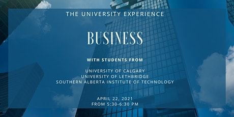 Youth Advancement Society: The University Experience - Business tickets