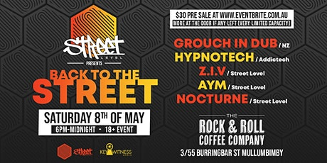 Back to the Street feat GROUCH in DUB & HYPNOTECH tickets