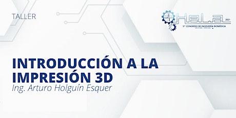 Introducción a la impresión 3D entradas