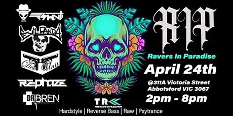 RAVERS IN PARADISE [R.I.P] at Two Hands Rooftop Bar | Food, Drinks, DJ | tickets