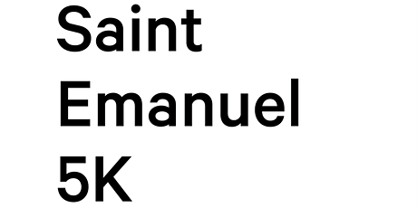 Saint Emanuel 5K tickets