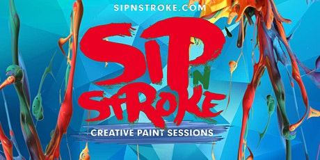 Sip 'N Stroke | 2pm - 5pm  | Sip and Paint *NEW TIME* tickets
