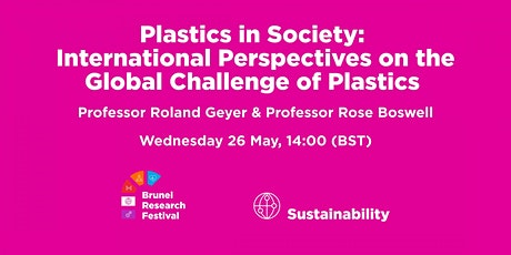 International Perspectives on the Global Challenge of Plastics tickets