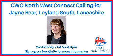 CWO North West Connect Calling with Lancashire Councillor Candidates tickets