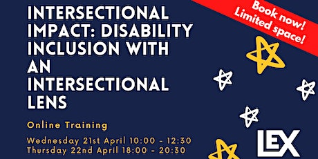 Intersectional Impact: Disability Inclusion with an Intersectional Lens tickets