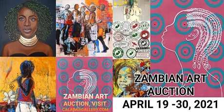 ZAMBIAN ART AUCTION produced by Calabar Gallery tickets