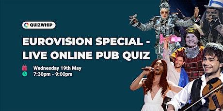 Eurovision Special - Live Online Pub Quiz tickets