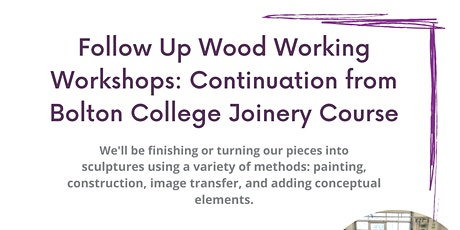 Joinery Follow Up Workshops tickets