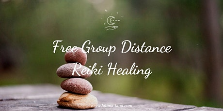 Free Group Distance Reiki Healing tickets