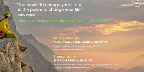 What is Avatar®? A joyful and informative exploration of 30 min. tickets