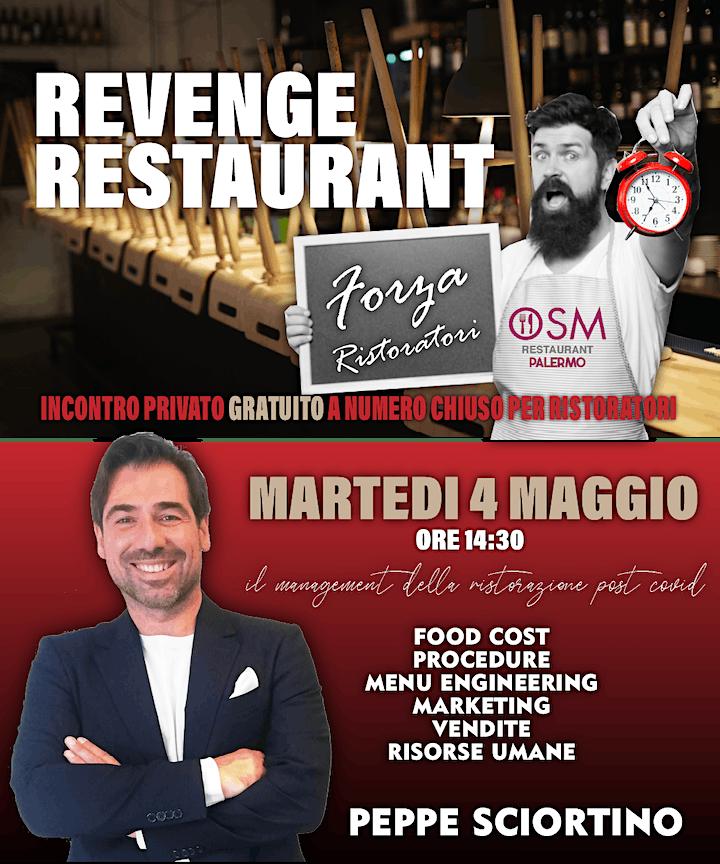 Immagine REVENGE RESTAURANT - il Management della ristorazione post-covid