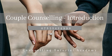 Couple Counselling Training: Practical Tools tickets