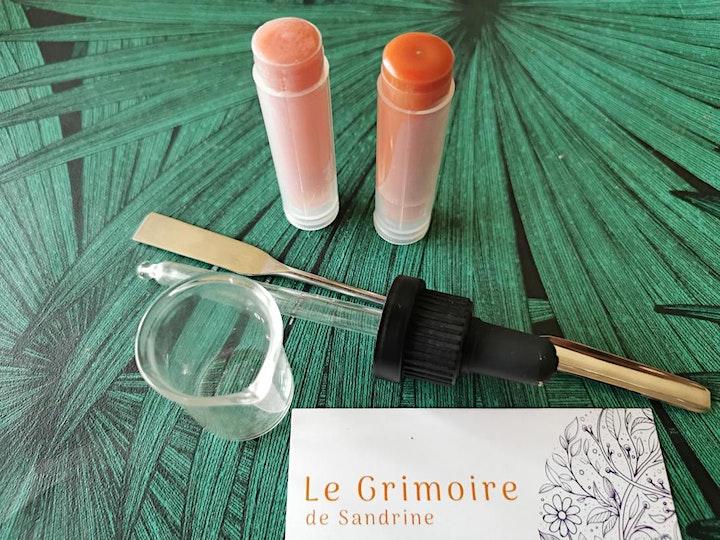 Image pour Atelier cosmétique minimaliste baume à lèvres