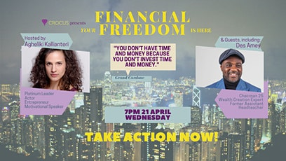 Your Financial Freedom is Here tickets