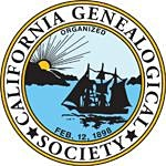 California Genealogical Society logo