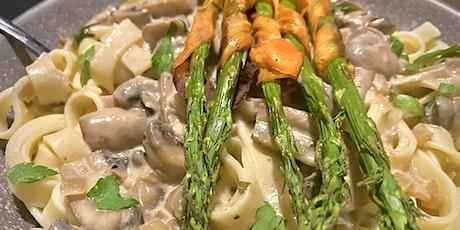 Mushroom Stroganoff - Plant Based Cooking Classes tickets