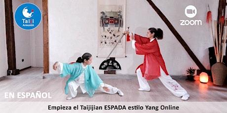 Tai Chi estilo Yang - forma de base ESPADA Taijijian de 16 movimientos entradas