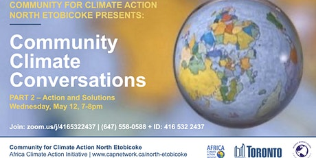 Community Climate Conversations: Part 2 tickets