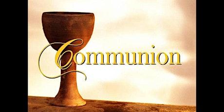 DIMANCHE 25 AVRIL 2021 - service de Communion pour 9 personnes à la fois billets