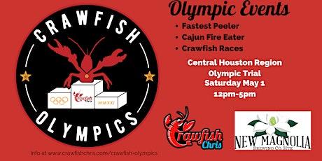 2021 Crawfish Olympics CENTRAL HOUSTON tickets