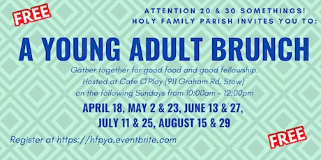 Holy Family Parish Young Adult Brunch tickets