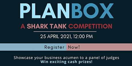PlanBox - A Shark Tank Competition tickets