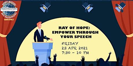 Online Public Speaking Extravaganza: Empower Through Your Speech tickets