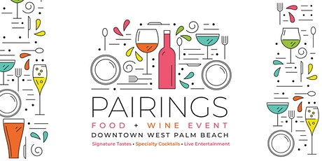 Pairings:  Food & Wine Event tickets