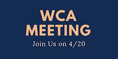 4/20 Community Meeting tickets