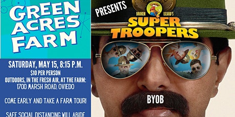 Outdoor Movie: Super Troopers tickets