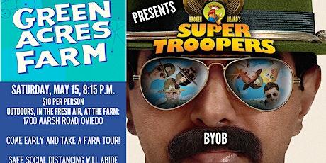 Outdoor Movie: Super Troopers tickets