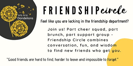 Friendship Circle tickets
