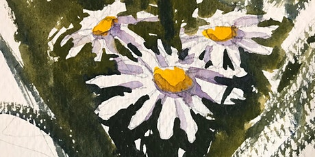 Painting Daisies in Watercolor with Paul Oman tickets
