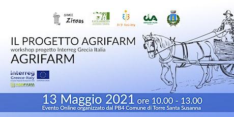 "INTERREG VA GRECIA ITALIA 2014-2020 - WORKSHOP  DEL PROGETTO ""AGRIFARM "" tickets"