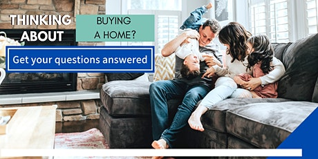 Learn how to finance and buy your first home with us! tickets