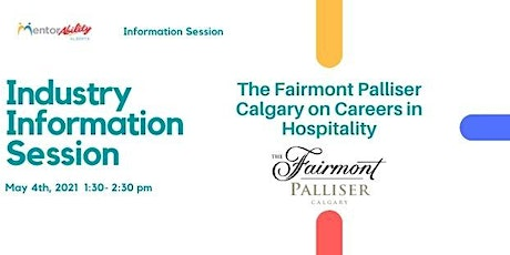 MentorAbility Industry Information Session: Careers in Hospitality tickets