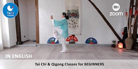 Tai Chi 16 step form & Qigong Baduanjin for BEGINNERS tickets