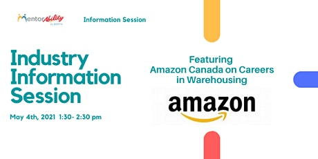 MentorAbility Industry Information Session: Amazon Canada tickets