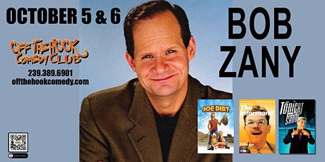 Comedian Bob Zany  live  in Naples, FL Off The Hook Comedy Club tickets