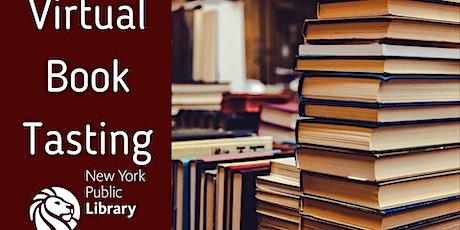 Virtual Book Tasting Tickets