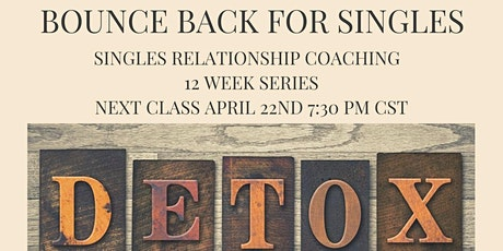 Bounce Back Singles Relational Coaching tickets