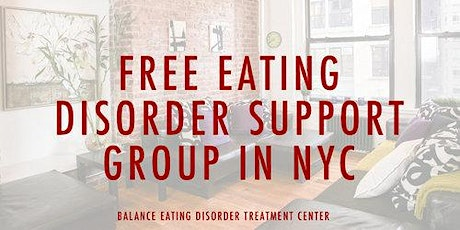 Free Virtual Eating Disorder Recovery Support Group tickets