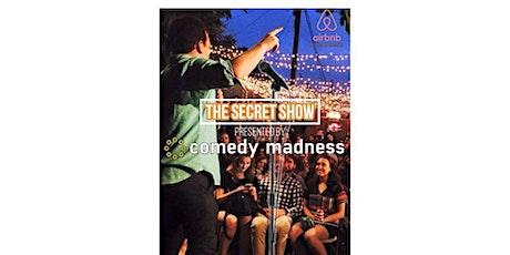 Comedy Madness Secret Line Up Show - Rooftop Restaurant tickets