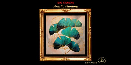 Big Painting Workshop : Gold Line Ginkgo Leaf (Sunday) tickets