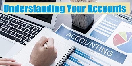 Understanding Your Accounts tickets