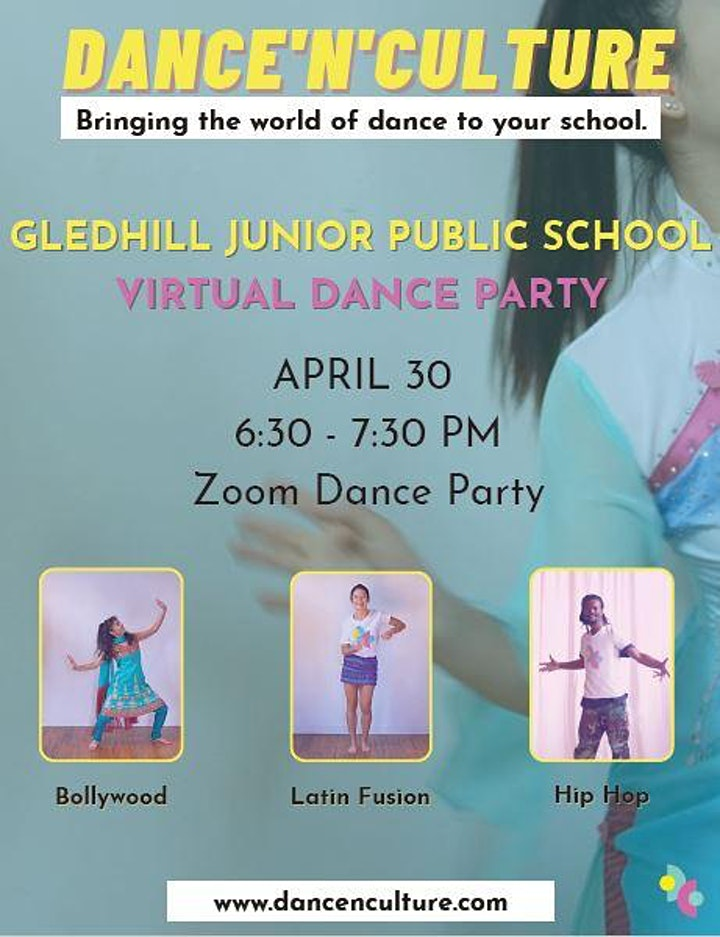 Gledhill Virtual Family Dance Party image